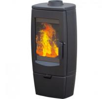 Чугунная печь камин Plamen Gala (черная)
