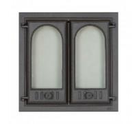 Каминная дверца двух створчатая SVT 400 (500х500 мм)