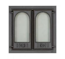 Каминная дверца двух створчатая SVT 401 (410х410 мм)