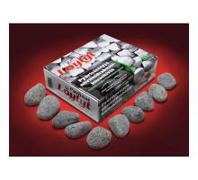 Камни для бани Оливиновый диабаз шлифованный ( фракция больше 10см) - 20кг