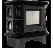 Кафельная печь Kratki WK440 кафель черная