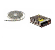Светодиодное освещение для бани LED - белый цвет (комплект 1м)