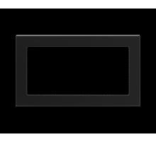 Решетка вентиляционая черная 17*30