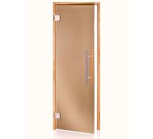 Двери для бани Wood Premium бронза 70х200